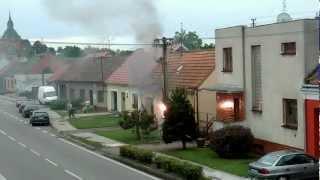 getlinkyoutube.com-požár el. rozvodny Břeclav/Poštorná