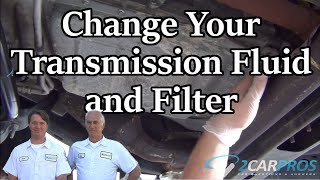 Transmission Filter and Fluid Service Ford F-150 2011-2014
