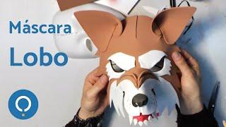 getlinkyoutube.com-Cómo hacer una máscara de lobo feroz (1/2)