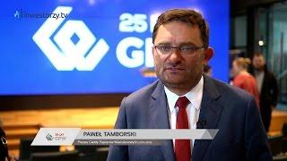 25 lat GPW: Paweł Tamborski, Giełda Papierów Wartościowych w Warszawie SA