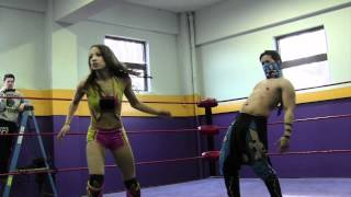 getlinkyoutube.com-Beyond Wrestling [Free Match] Mercedes KV (Sasha Banks) v Fury v Mikaze v Fahrenheit (Intergender)