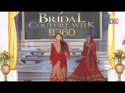 Bridal Couture Week 2012 Style 360 TV charu parashar