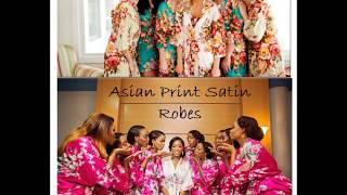 DIY Wedding Satin Robes  Rhinestone Iron Ons