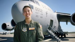 U.S. Air Force: Capt Susan Finch, C-17 Pilot width=