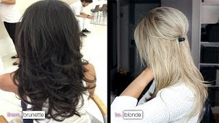 getlinkyoutube.com-DIY from Brunette to Blonde & how I maintain my color