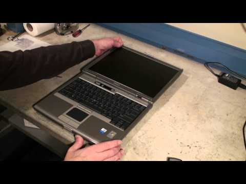 Dell Latitude d610 CPU & Memory Upgrade Video #2