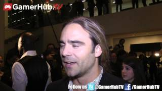 getlinkyoutube.com-Actor Dustin Clare Talks Gannicus, Spartacus Legends And Final Season