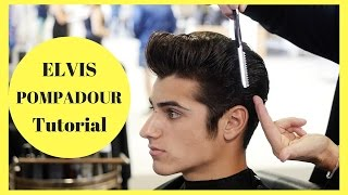 getlinkyoutube.com-Elvis Pompadour Tutorial - In Partnership with American Crew