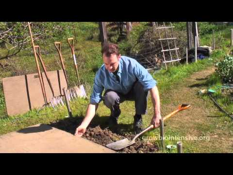 GROW BIOINTENSIVE: A Beginner's Guide -- Episode 3 Part 1: Garden Bed Preparation