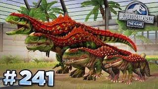 Creating The Strongest Hybrid! || Jurassic World - The Game - Ep241 HD