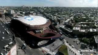 La construction du Barclays Center de Jay-Z en time lapse