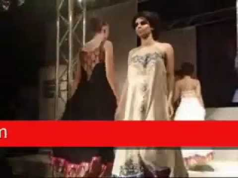 Pakistani dresses fashion show in London.wmv