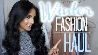 getlinkyoutube.com-Winter Fashion Haul   SHOES & Holiday Clothing