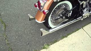 getlinkyoutube.com-2008 Harley Davidson Softail Deluxe - Anniversary Edition
