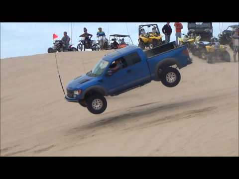 #3 Silver Lake Sand Dunes Blue Ford Raptor SVT