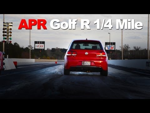 APR Stage 3 Golf R - 6MT - Development Testing at the Drag Strip - 11.8