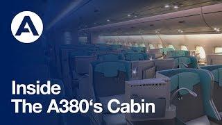 getlinkyoutube.com-Inside the A380's cabin