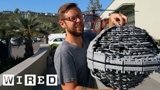 getlinkyoutube.com-Star Wars Lego Death Star Gets Destroyed with a Baseball Bat | Star Wars Lego Destruction