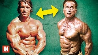 getlinkyoutube.com-Arnold Schwarzenegger | From 17 To 69 Years Old
