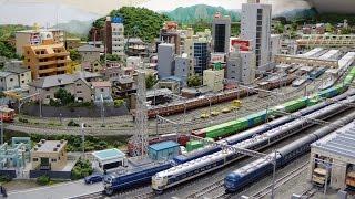 getlinkyoutube.com-ジオラマ THE・レイアウト - 1 【鉄道模型Nゲージ】