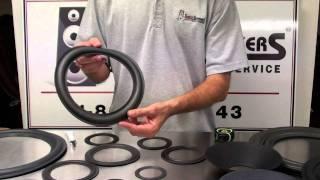 getlinkyoutube.com-Speaker Repair Foam Edge Styles and Sizes for Speakers by Simply Speakers
