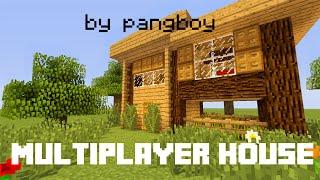 getlinkyoutube.com-MineCraft : Multiplayer House Tutorial - สอนสร้างบ้านสำหรับ 2 คน