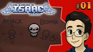 THE WORST TUTORIAL EVER | The Binding of Isaac: Rebirth, Run 1 - BGPR!