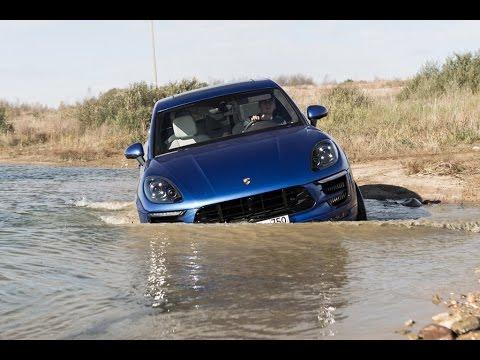 Porsche Cayenne и Macan на бездорожье