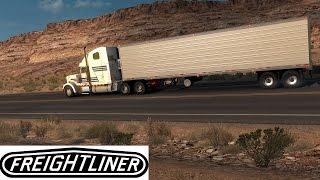 getlinkyoutube.com-American Truck Simulator: Freightliner Classic XL v3.1.3 test drive