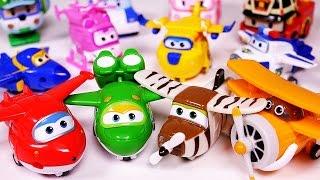 getlinkyoutube.com-Super Wings 출동슈퍼윙스 신제품 장난감 SuperWings airplane mini toys