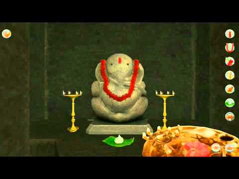 Ganesha 3D Interactive Temple - Demo Video (