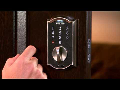 Schlage Touch™ Programming Tutorial