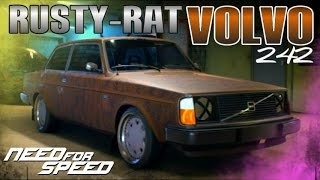 getlinkyoutube.com-Need for Speed 2015 RAT VOLVO 242 (CUSTOMIZATION & GAMEPLAY)