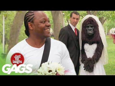 Bridezilla? No, just Gorilla Bride