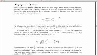 lab analysis example