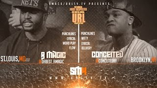 getlinkyoutube.com-CONCEITED VS B-MAGIC SMACK/ URL