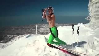 getlinkyoutube.com-Toppless de Jackie Chamoun, estrella libanés de Sochi 2014