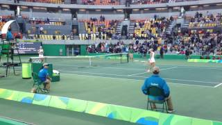 getlinkyoutube.com-Angelique Kerber vs Johanna Konta Match Point 2016