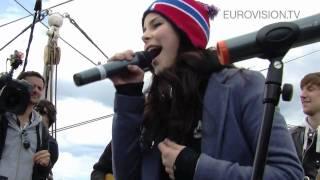 getlinkyoutube.com-Lena - Satellite - acoustic version (Boat trip in Oslo)