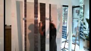 getlinkyoutube.com-LED TV Wand selber bauen mit LED Hintergrund
