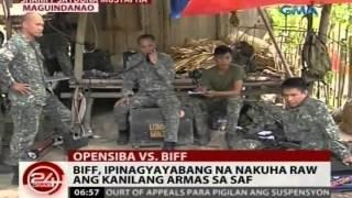 getlinkyoutube.com-24 Oras: Dalawang sundalong nasawi kagabi, mga batikang sniper ng marines