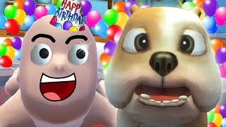 getlinkyoutube.com-BABY GETS A PET PUPPY FOR HIS BIRTHDAY !!! 🎂 (Who's Your Daddy Funny Moments)