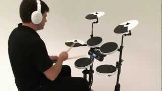 getlinkyoutube.com-Roland V-Drums Portable TD-4KP Kit Examples 1 (Acoustic Sounds)