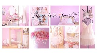 getlinkyoutube.com-Room Tour Girly/Shabby Chic March 2016 ♡Chloe Griffin