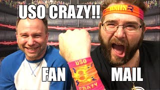 getlinkyoutube.com-USO CRAZY WWE WRESTLING FIGURE FAN MAIL UNBOXING FUN!