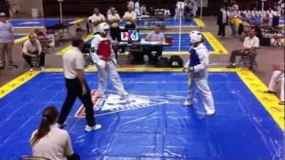 getlinkyoutube.com-Ft. Worth Internationals Yellow Belt Sparring Pt. 2/2 (Baylor TKD 2011)