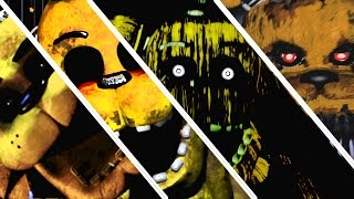 getlinkyoutube.com-Five Nights At Freddy's 1 2 3 4 All Jumpscares | All FNAF Series Jumpscares