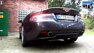 getlinkyoutube.com-2014 Aston Martin DB9 (517hp) - Cold Start SOUND (1080p FULL HD)