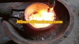 getlinkyoutube.com-Peleburan emas murni