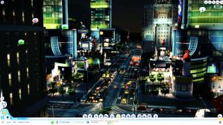 getlinkyoutube.com-Sim City 5 Casino Stadt mit 85'000 Touristen ohne Verkehrsprobleme!